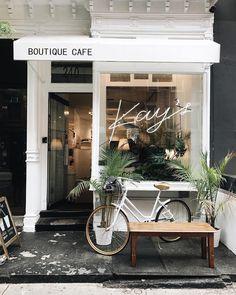 Kay's, Nova York, melissamale The Shopkeepers - Coffee shop design - Fachadas