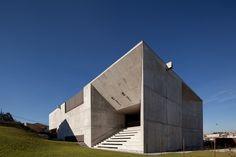 Brufe Social Center in Brufe, Vila Nova de Famalicão, Portugal by Imago