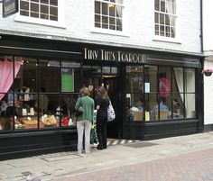 Tiny Tim's Tearoom, Canterbury Centre, Kent by iknow-uk, via Flickr