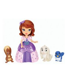 Loving this Sofia the First & Animal Friends Toy Set on #zulily! #zulilyfinds