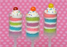 Cupcake Push Ups - I wanted these for our wedding, but they were so expensive. I wish I knew I could have made them myself. Maybe Nico's next birthday party instead.
