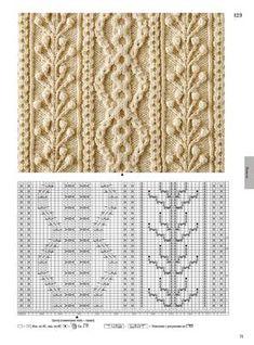Knitting Paterns, Cable Knitting, Knitting Charts, Knitting Designs, Knit Patterns, Hand Knitting, Stitch Patterns, Crochet Cable Stitch, Crochet Stitches