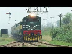Terrific Trains Of Pakistan Railways Live Train, Pakistan Railways, Free Movie Websites, Old Names, Train Journey, Lush Green, Locomotive, Trains, Old Things