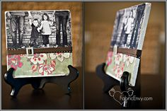 fabric/photo tile