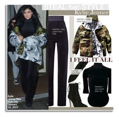 """Steal Her Style-Kylie Jenner"" by kusja ❤ liked on Polyvore featuring Oscar Tiye, Stealherstyle, celebstyle and KylieJenner"