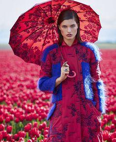 Harper's Bazaar August 2017 Julia Van Os photographed by Daniel Riera | fashion editorial fashion photography