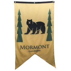 Game of Thrones Mormont Family Banner