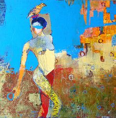 Quidam - Jylian Gustlin - Contemporary Art - Figurative Painting