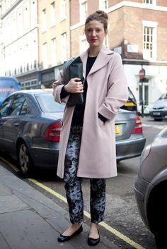 Taken at WHISTLES AW13 show,   London Fashion Week.