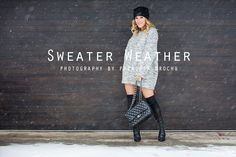 Fashion Trend : sweater weather on Mademoiselle Jules www.mllejules.com photography by Patricia Brochu  http://www.mllejules.com/blog/2015/1/26/sweater-weather