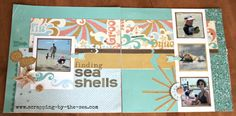 layout by Lindsey DeLaMare using CTMH Surf's Up paper