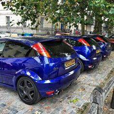 A trio of Ford Focus RS MK1