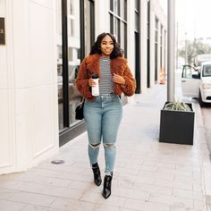 Curvy Outfits, Casual Fall Outfits, Fall Winter Outfits, Classy Outfits, Autumn Winter Fashion, Fashion Outfits, Black Women Fashion, Curvy Fashion, Winter Stil
