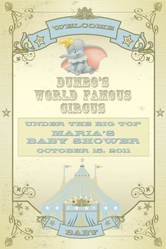 A Dumbo Themed Baby Shower|The Magical Day Baby Blog | A Disney Fan Site for Parents