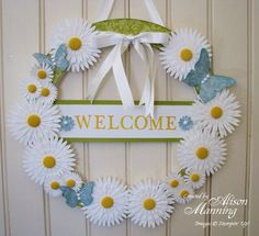 beautiful welcome wreath   Google Image Result for http://www.newenglandstamper.com/.a/6a00e54ef5ba2f883301156fb46964970c-500wi
