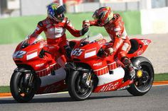 Loris Capirossi provided Ducati with their first win in MotoGP on the 990cc bike.