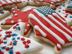Red, White & Blue Treats & Eats - Bites From Other Blogs - Love ...