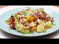 Cartofi carbonara - YouTube Potato Salad, Foodies, Bacon, Ethnic Recipes, Youtube, Mariana, Fine Dining, Youtubers, Pork Belly