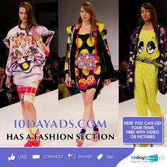 10dayads.com has a fashion section #Fashion #FashionAds #WorldwideFashionAds #FreeFashionAdsPosting