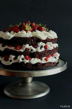 Taste Your Life - blog kulinarny : Owocowy czarny las.