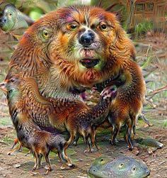 Deep Dream Beaver by KLMjr. #deepdream #beaver #trippy #psychedelicart #digitalart #digitalmanipulation by kendrofious_morificus