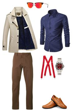 """Без названия #57"" by sumely on Polyvore featuring AMI, Wembley, Ray-Ban, men's fashion и menswear"