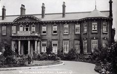 Edmonton Military Hospital, now North Middlesex Hospital Vintage London, Old London, London City, Enfield England, Enfield Middlesex, Edwardian House, London Photos, Ancient Architecture, Wedding Humor