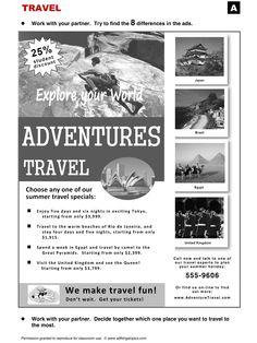 Travel, English, Learning English, Vocabulary, ESL, English Phrases, http://www.allthingstopics.com/travel.html