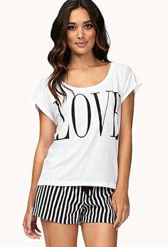 Love PJ Set   FOREVER21 - 2077920634 $14.80