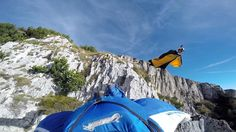 Uli Emanuele and Dario Zanon make the first wingsuit flight from the mountains above Lake Garda in Northern Italy — a jump made even more challenging by the . Wingsuit Flying, That Way, Gopro, The Ordinary, Outdoor Gear, Tent, Films, Channel, The Incredibles