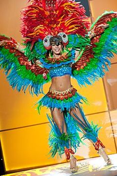 National Costume: Miss Universe Bolivia 2011