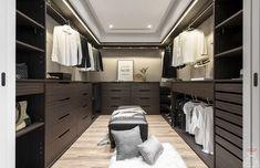 Closet Bedroom, Walk In Closet, Dressing Room, Wardrobes, Storage Organization, New Homes, Living Room, Interior Design, Color