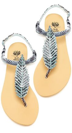Feather Sandals ღ L.O.V.E.
