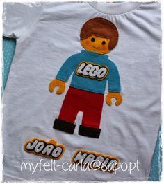 Uma t-shirt para o João Maria, que é um LEGO fã!
