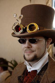 Steampunk Gentleman - Steve Rainwater