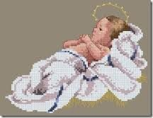 2004 Christmas Design 1 of 3 Cross Stitch Angels, Beaded Cross Stitch, Cross Stitch Baby, Cross Stitch Charts, Counted Cross Stitch Patterns, Cross Stitch Designs, Cross Stitch Embroidery, Cross Stitch Freebies, Christmas Embroidery