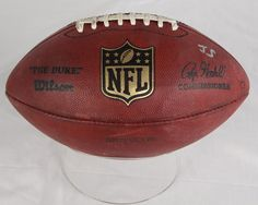 Manning on the ball! The football Peyton Manning threw for his final pass of the 2013 NFL regular season arrived at the Hall of Fame. Click on the image for details! #Broncos