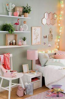 ارقى تصميمات وديكورات غرف نوم اطفال بنات 2021 Pink Bedroom Decor Tropical Bedrooms Girl Room