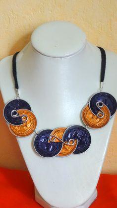 collier en capsules Nespresso fait par Joelle Pinet