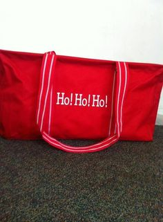 Christmas is right around the corner...thirty one can help you haul all your jolly gear with a large utility tote!