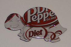 Turtle Magnet - Diet Dr. Pepper Soda Can. $3.00, via Etsy.
