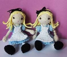 Make It: Alice in Wonderland - Free Crochet Pattern #crochet #amigurumi #free #ravelry