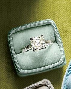 Dazzling Engagement Rings ~~ Princess-Cut Diamond Engagement Ring  Tiffany, tiffany.com