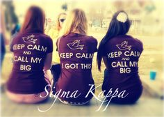 Big/Little shirts..loveeee-- seriously even though i'm alum... totes wishing i had one!!