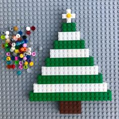 Decorate and build your own LEGO Christmas tree! Decorate and build your own LEGO Christmas tree! Lego Christmas Tree, Preschool Christmas, Noel Christmas, Christmas Activities, Christmas Crafts For Kids, Holiday Crafts, Holiday Fun, Xmas Tree, Diy With Kids