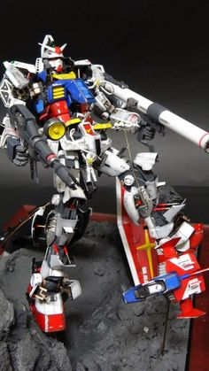 "Custom Build: MG 1/100 RX-78-2 Gundam Ver. 3.0 ""Vahngo Version"" with Diorama and Open Hatch Presentation - Gundam Kits Collection News and Reviews"