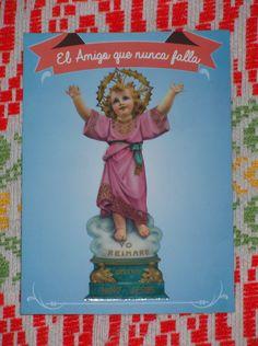 Afiche pequeño del Divino Niño Jesús