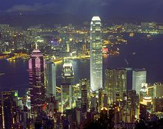 Victoria Peak, Hong Kong. Breathtaking :)