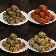 Veggie Tots 4 Ways by Tasty