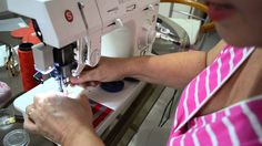 Como costurar malha em máquina doméstica - Aula 30